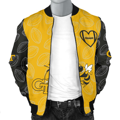 Georgia Tech Bomber Jacket - Men's