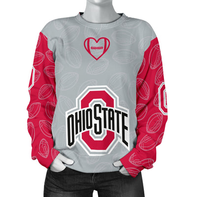 Ohio State Buckeyes Sweater- Women's