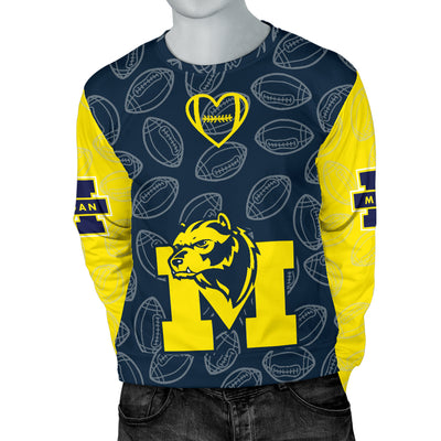 Michigan Wolverines Sweater - Men's