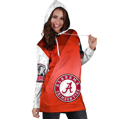 Alabama Crimson Tide Hoodie Dress