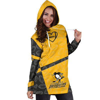 Pittsburgh Penguins Hoodie Dress