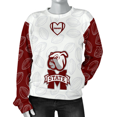Mississippi State Bulldogs Sweater - Women's