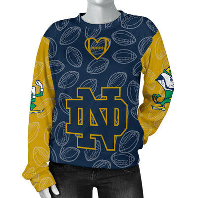 Notre Dame Fighting Irish Sweater - Women's