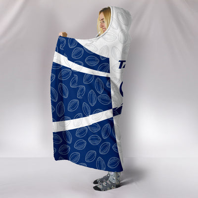 Tampa Bay Lightning Hooded Blanket