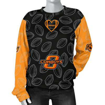 Oklahoma State Cowboys Sweater - Women's