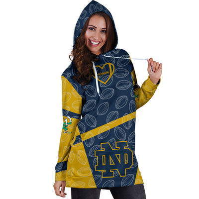 Notre Dame Fighting Irish Hoodie Dress