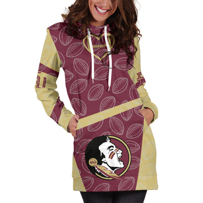 Florida State Seminoles Hoodie Dress