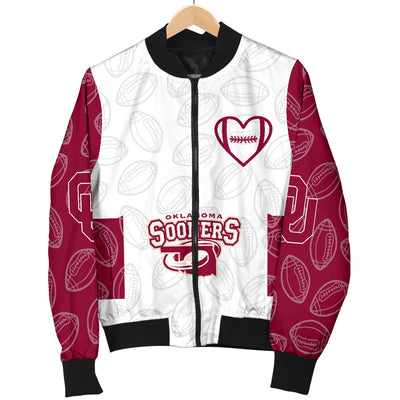Oklahoma Sooners Bomber Jacket - Men's