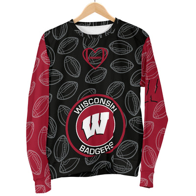 Wisconsin Badgers Sweater - Men's