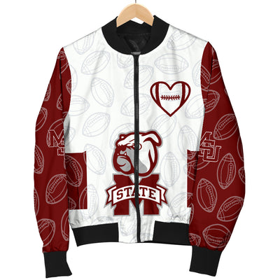 Mississippi State Bulldogs Bomber Jacket - Men's