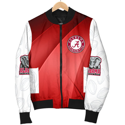 Alabama Crimson Tide Bomber Jacket - Men's