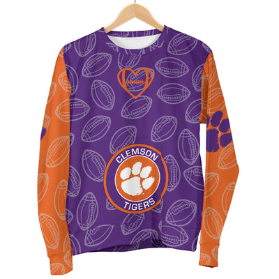 Clemson Tigers Sweater -  Women's