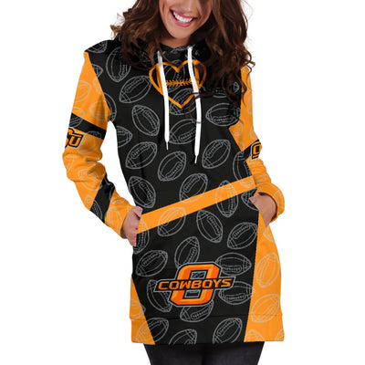 Oklahoma State Cowboys Hoodie Dress