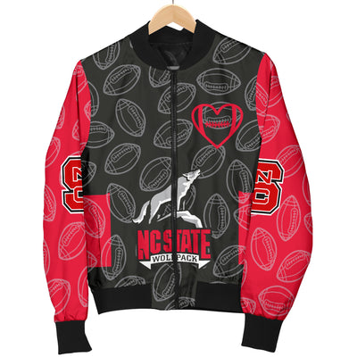 NC State Wolfpack Bomber Jacket - Men's