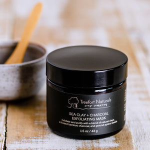 Sea Clay + Charcoal Exfoliating Mask
