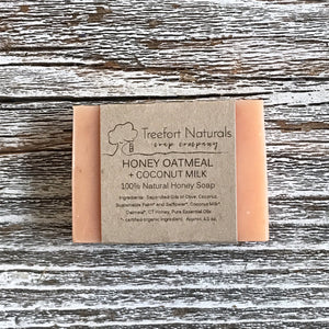 Treefort Naturals Honey Oatmeal Soap