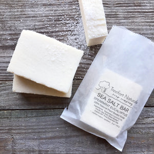 sea salt spa soap bar