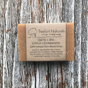 Treefort Naturals Oats and IPA Beer Soap