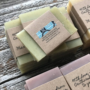 Handmade Custom Soap Favors