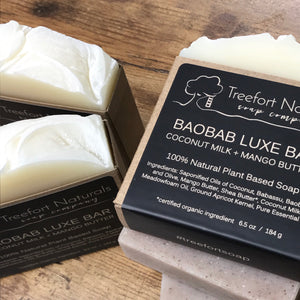 Treefort Naturals Baobab Luxe Face + Body Bar