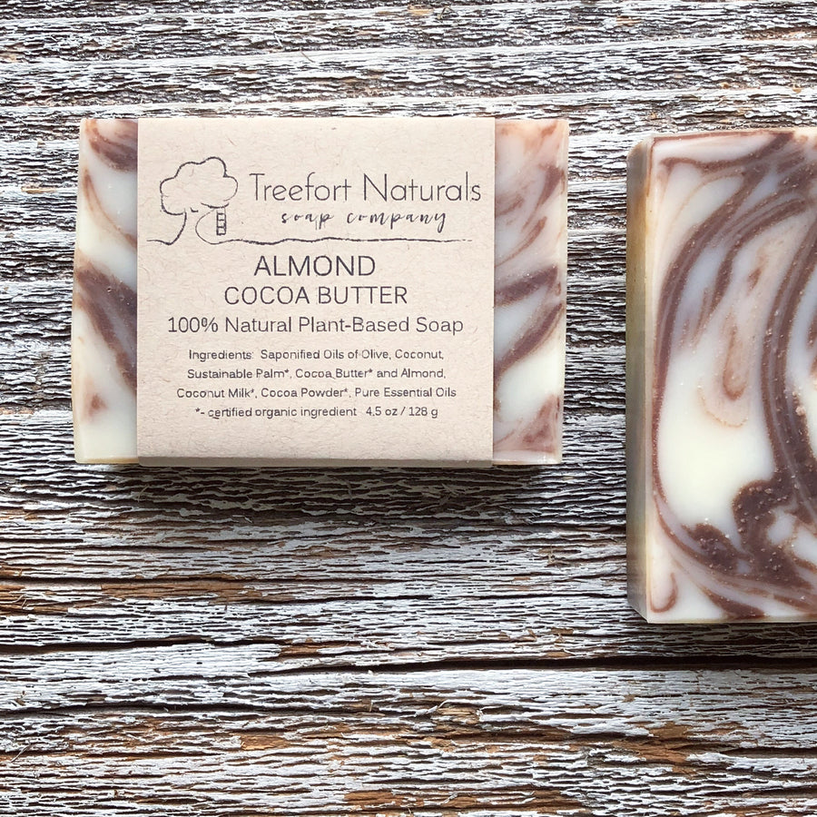 Treefort Naturals handcrafted almond soap