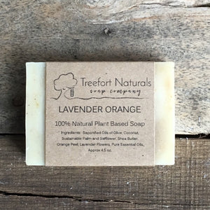 Treefort Naturals Lavender Orange Soap
