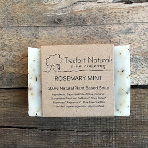 Treefort Naturals Rosemary Mint Soap