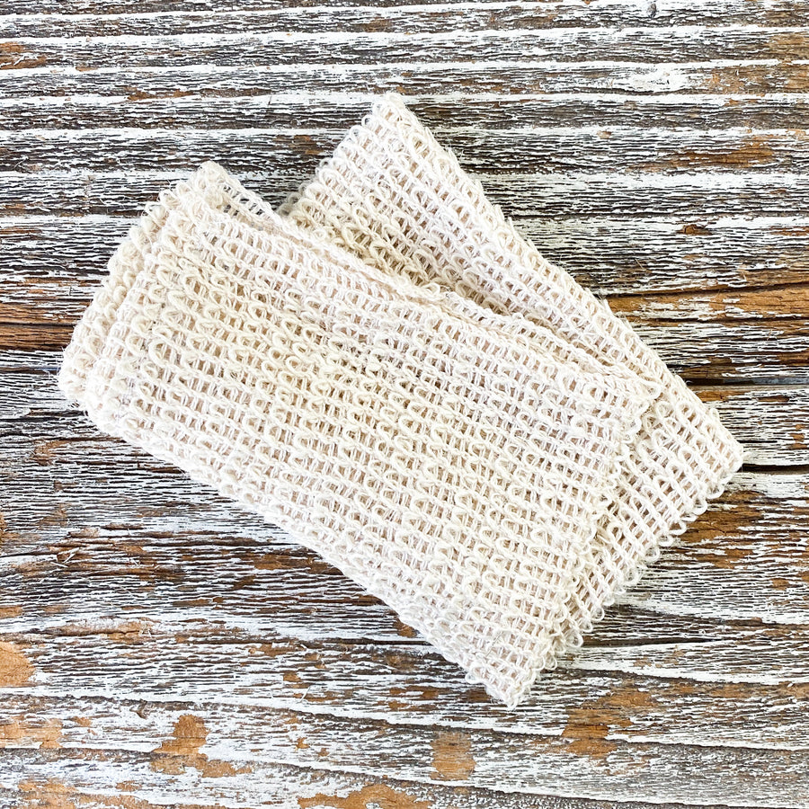 Cambric fiber washcloth