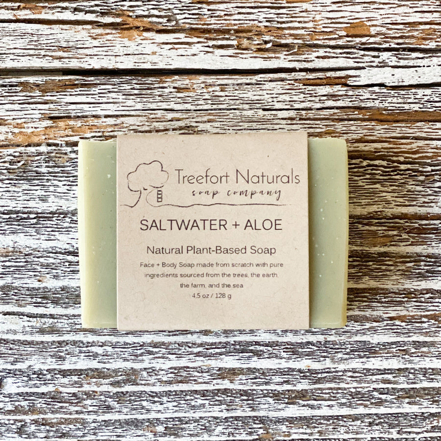 Saltwater + Aloe Soap