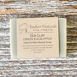 Sea Clay with Lemon Eucalyptus Soap