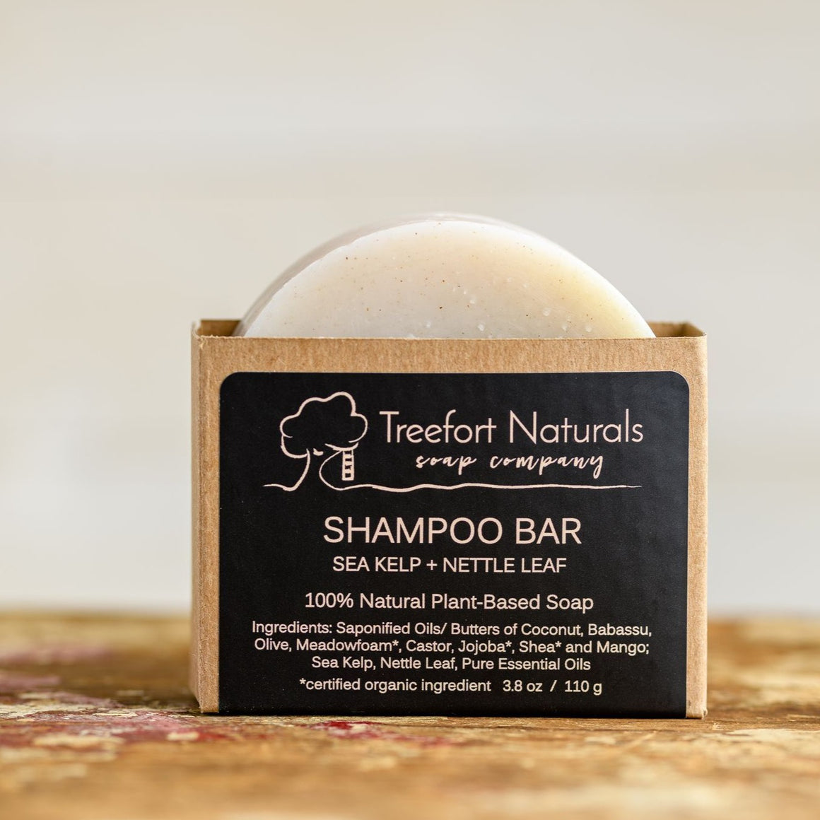 Sea Kelp + Nettle Leaf Shampoo Bar