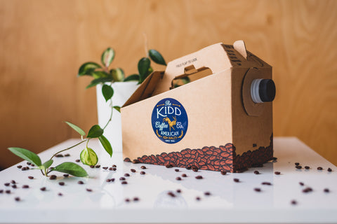 Catering options available for any event big or small with Cincinnati's best coffee shop; The Kidd Coffee Co.