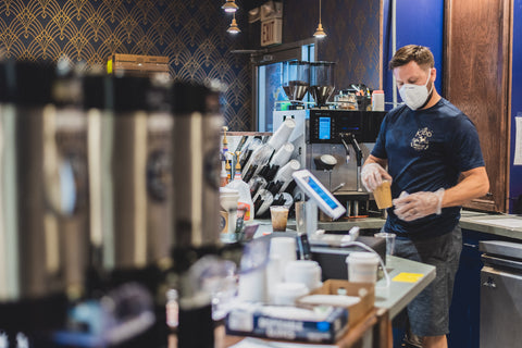 cincinnati coffee shop Kidd Coffee Covid policies