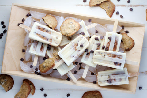 Chocolate Chip Popsicles
