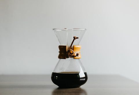 Get dad a custom engraved Chemex for fathers day 2021
