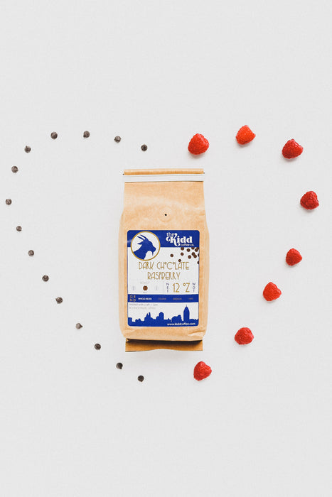 Dark Chocolate Raspberry 12 oz Bag