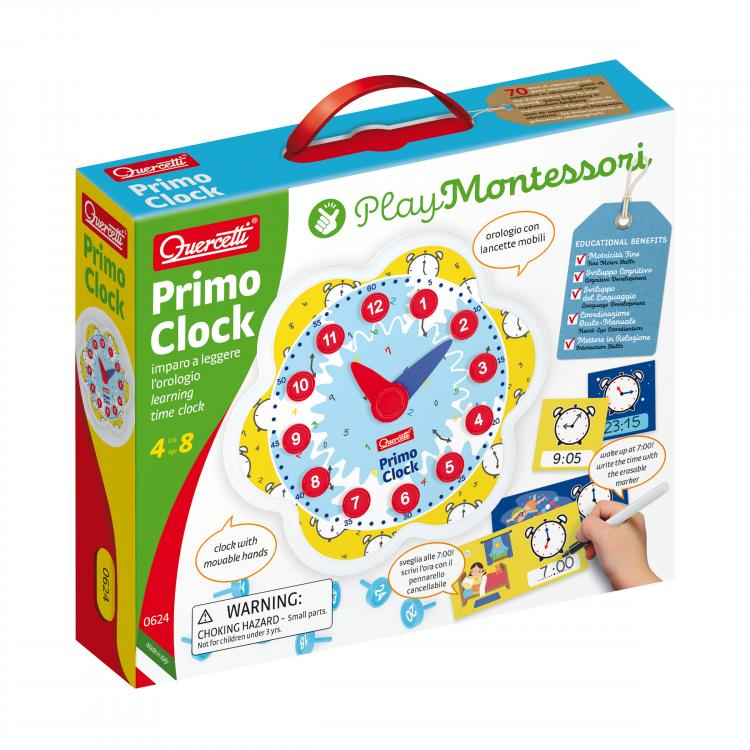 Quercetti | Primo Clock | Learning Time