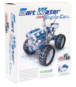 Green Energy | Salt Water Engine Car