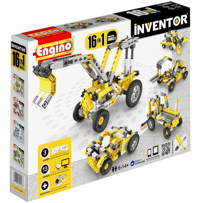 Inventor 16 Industrial Models Construction Set