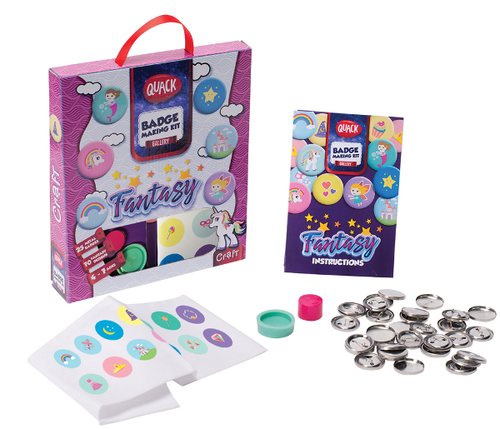 Fantasy Badge Making Kit