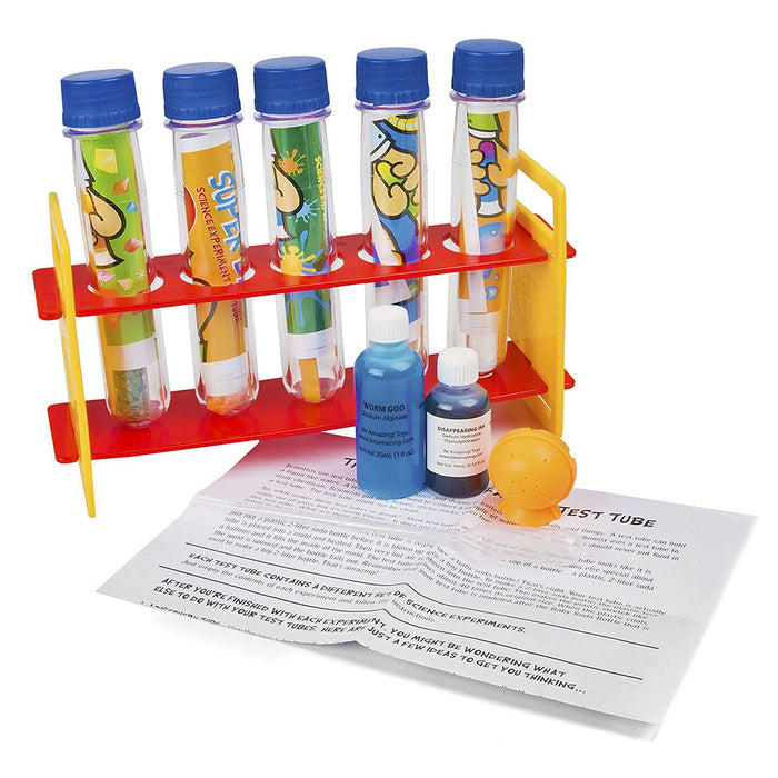 Test Tube Adventures Science Experiments