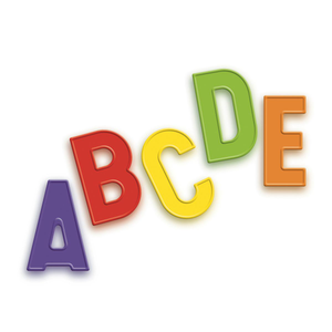 Quercetti | Magnetic Letters Upper Case Fridge Magnets