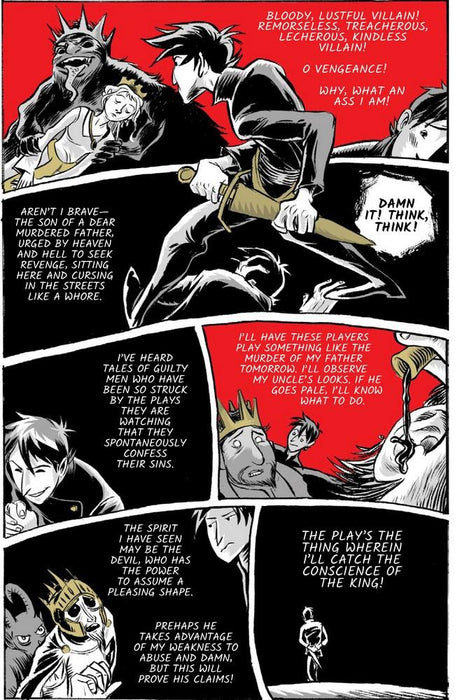 No Fear Shakespeare Hamlet Graphic Novel