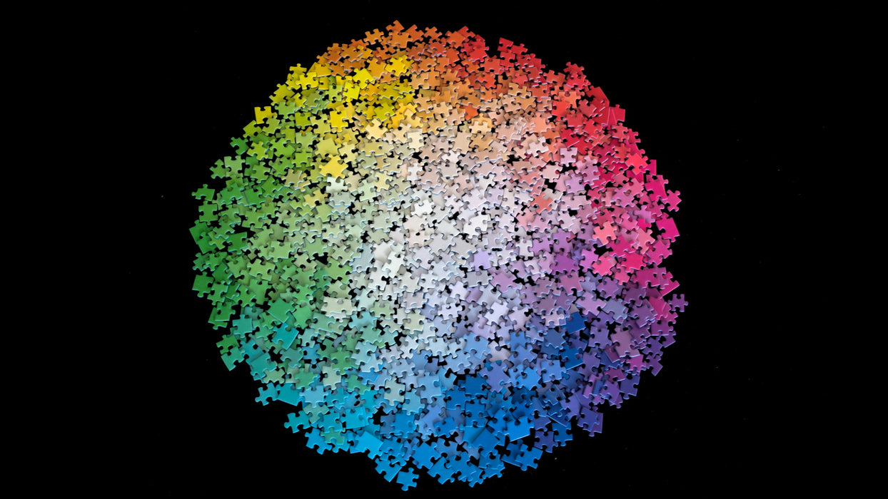 Clemens Habicht | 1000Pc Jigsaw Puzzle Colour Wheel Puzzle
