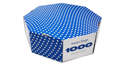 Karan Singh | 1000Pc Jigsaw Puzzle Round Puzzle