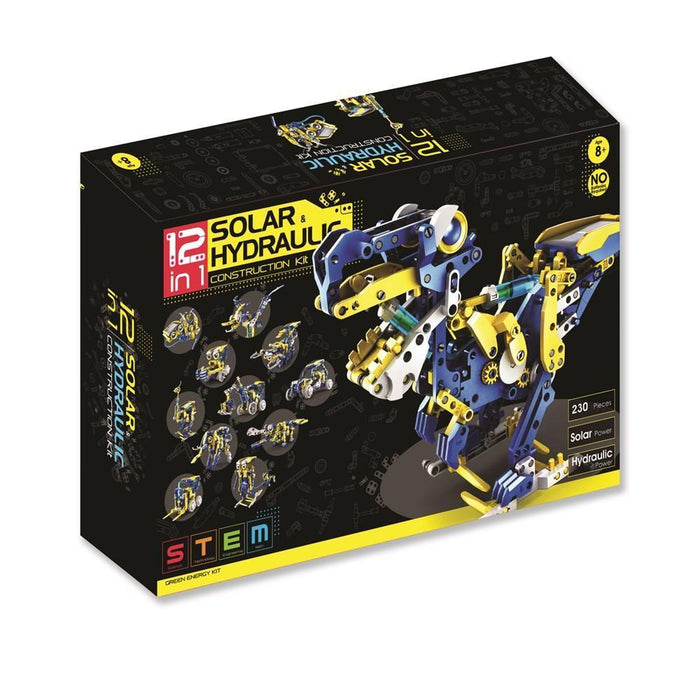 Stem | 12 In 1 Solar And Hydraulic Construction Kit