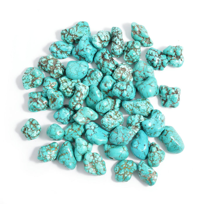 Turquenite Tumbled Gemstones