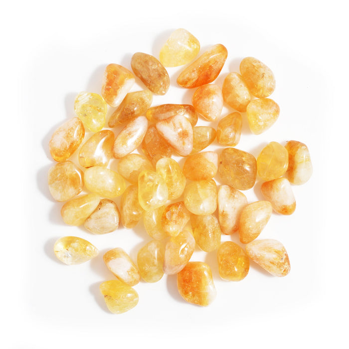 Citrine Tumbled Gemstones