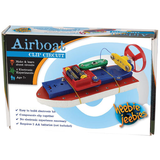 Heebie Jeebies | Clip Circuit Airboat Electronic Boat Kit