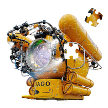 Load image into Gallery viewer, Jago Submarine Floor Pluzzle | Glow In The Dark Puzzle